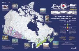 canadian map population distribution social studies eleven digital handbook human geography world