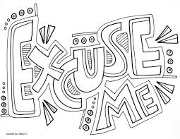 behavior expectations coloring pages classroom doodles