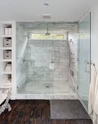 Bathroom Shower Window One Design Master Bath Shower Ideas Seamless Glass Marble