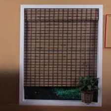 arlo blinds 04tbh vera guinea bamboo roman shade the mine