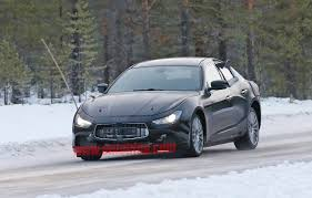 maserati snow maserati ghibli test mule spy shots photo gallery autoblog