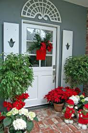 decorations ideas snowflake front door decorating landing