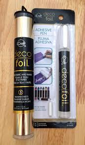 deco foil deco foil adhesive pen craft critique