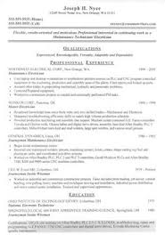 Electrician Resume Sample samples of resumes for customer service jobs here we are going to