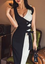 sheath women dresses tight dress online with competitive price