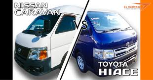 toyota hiace 2014 people mover comparison u2013 nissan caravan vs toyota hiace