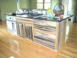 Reclaimed Kitchen Cabinet Doors Reclaimed Wood Kitchen Cabinets Faced