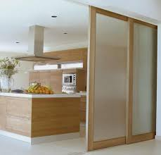 Sliding Door Design For Kitchen Modern Kitchen Pocket Sliding Nesting Doors To Hide Or Showcase