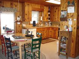 Kitchen Pine Cabinets What To Do With Knotty Pine Walls