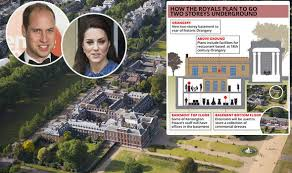 where is kensington palace kate middleton prince william to enjoy huge new extension to