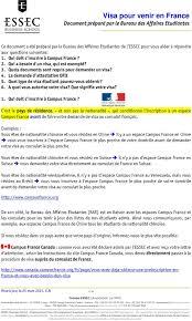 bureau des visas canada visa pour venir en document préparé par le bureau des