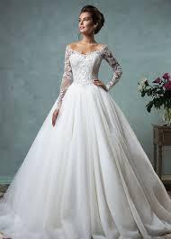 tissus robe de mariã e robe de mariée tissu dentelle manche longue milieu appliques