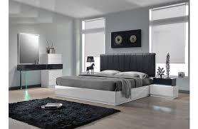 Modern Platform Bed With Lights - modern bedroom furniture melrose discount furniture store