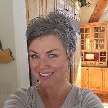 gray shag haircuts shortgreyhair pixie lettingitgrow curly hair long short and