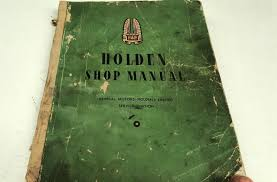 1952 holden fx 48 215 factory workshop manual u2022 aud 39 95