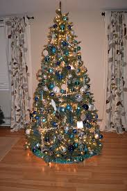 Christmas Tree With Blue Decorations - what you make it oh christmas tree oh christmas tree