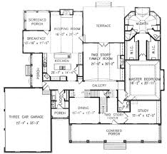 two story house plans with master on main floor southern style house plan 4 beds 4 50 baths 4444 sq ft plan 54 109