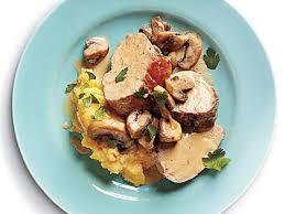 turkey mushroom gravy review by pork tenderloin with mushroom sauce recipe myrecipes
