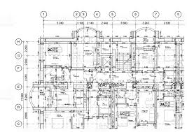 floor plan layout part of a detailed architectural plan floor plan layout blueprint