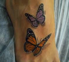 beautiful butterfly tattoos inked magazine part 11