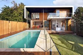 modern interior design exquisite small swimming pool at