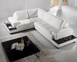 Sectional White Leather Sofa Furniture Beautiful White Leather Sectional For Your Living Room