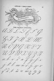 examples of german script