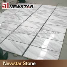 sell shine marble floor tiles in white with black lines buy