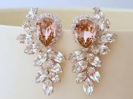 pink earrings best 25 pink earrings ideas on tourmaline earrings