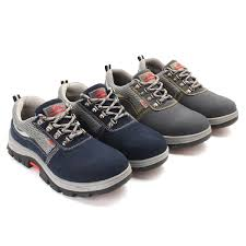 outdoor mens safety shoes summer breathable steel toe work boots