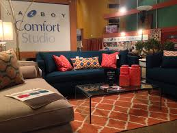 Home Decor Furniture Liquidators Orange And Blue Furniture Showcase