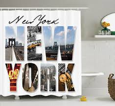 Our New Shower Curtain 10 Home Furniture U0026 Diy U003e Bath U003e Shower Curtains New York Themed