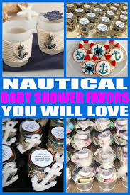 nautical baby shower favors baby shower favors