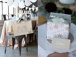 nye party kits silver and gold nye party by minted ruffled