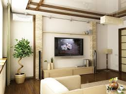 small living room ideas with tv in corner subway tile garage style
