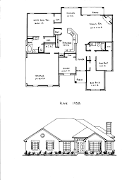 3 Bedroom House Plans With Basement One Story Open Floor Plans With Bedroom Gallery And 4 Plan Picture