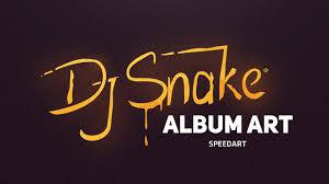 design art album dj snake album art speedart photoshop illustrator by swerve