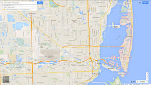 Florida Map Of Beaches by Miami Beach Florida Map