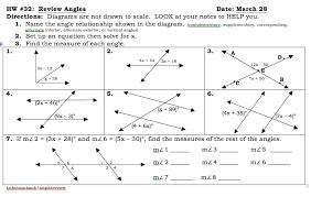 angle relationships worksheet answers 28 templates worksheet