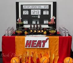 basketball party table decorations 78 best 13th birthday basketball ideas images on pinterest