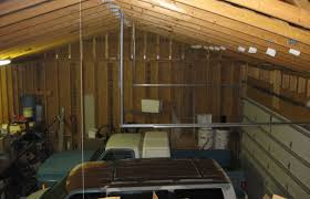 roof 2 car 2 story garage using attic trusses and dormer