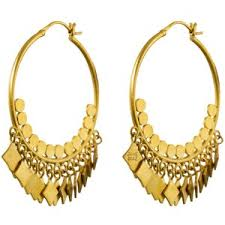 lotan earrings bohemian polyvore