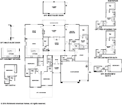 richmond american homes floor plans new homes in queen creek az home builders in la jara farms ii