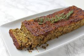 vegan thanksgiving barbecue glazed lentil loaf minamade