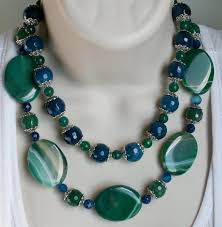 green agate necklace images Bold green agate statement necklace large by 123gemstones on zibbet jpg