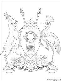 flag of uganda coloring page 8f27985f7561ccdef06879d8795a63da jpg