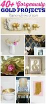 Home Decorating Diy Ideas Best 25 Gold Diy Ideas On Pinterest Diy Memo Board Project