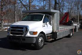 sold ford f650 fassi knuckle boom crane truck 4 ton under cdl