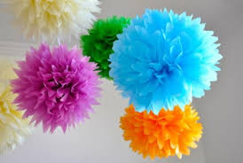 diy baby shower decorations are easy to make paper rosettes baby