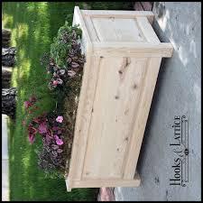 wooden planters deck planters wood planter boxes